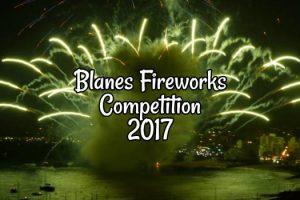 Blanes Fireworks 2017
