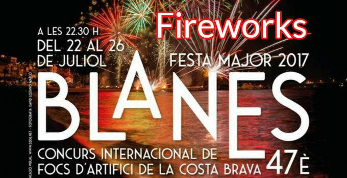 Fireworks Competition Blanes