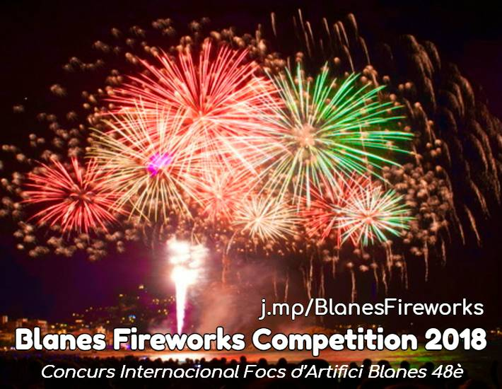 Blanes Fireworks Competition 2018