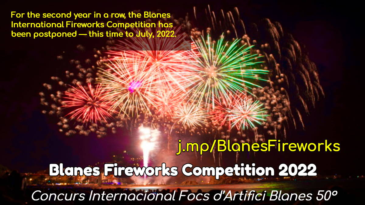 Blanes International Fireworks Competition